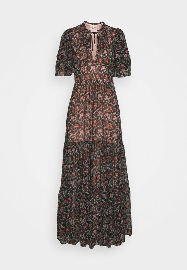 GEORGETTE MAXI DRESS - Vestito lungo - dark wallpaper