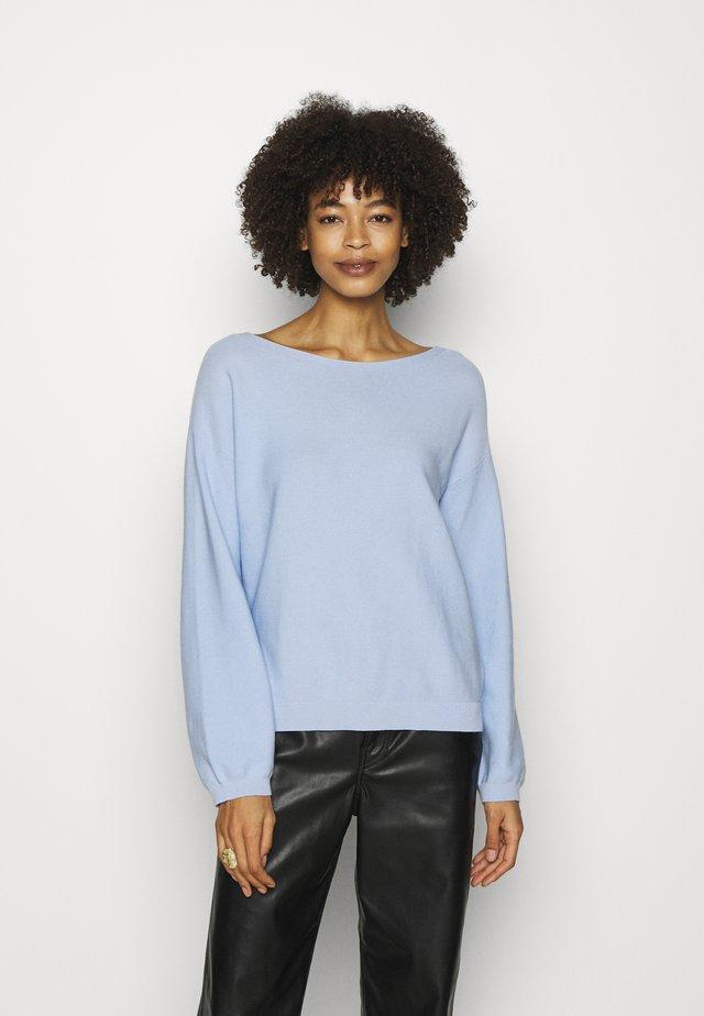 Sweter - pastel blue