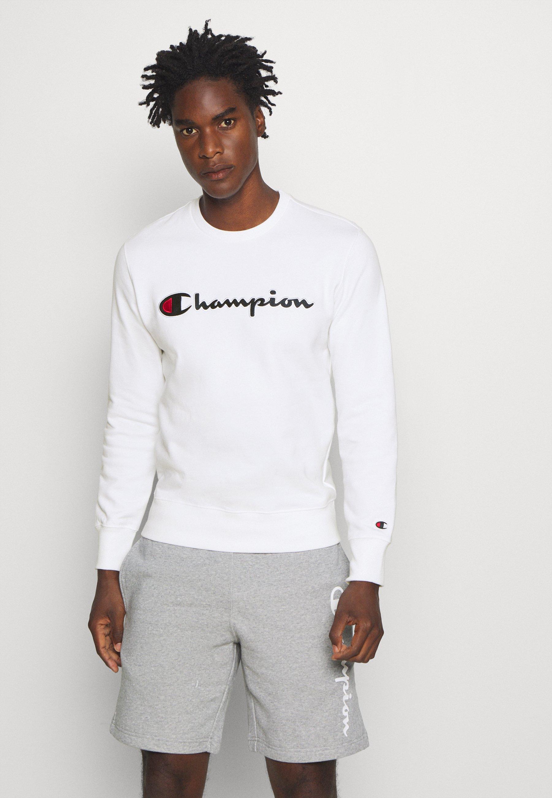 champion crewneck sweatshirt weiß