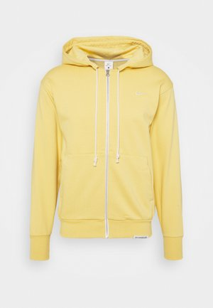 ISSUE HOODIE - Huvtröja med dragkedja - saturn gold/pale ivory