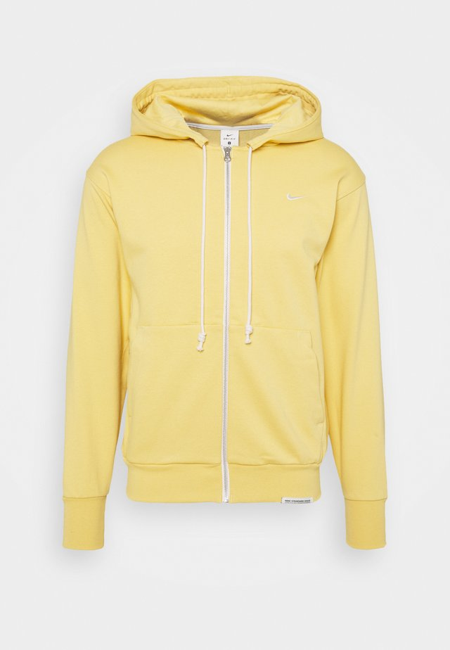 ISSUE HOODIE - Zip-up hoodie - saturn gold/pale ivory