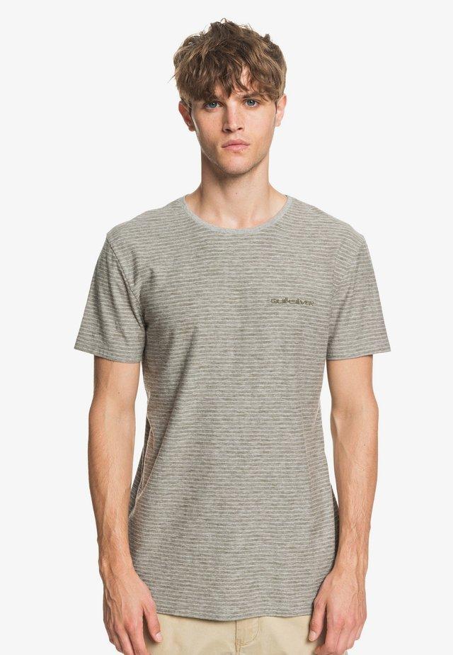 KENTIN - Print T-shirt - grey
