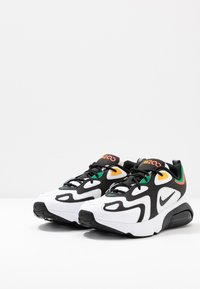 Nike Sportswear - AIR MAX 200 - Sneakers - white/black/bright crimson/university gold/lucid green - 3