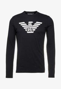 Emporio Armani - Long sleeved top - nero - 3