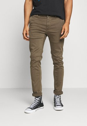 ZEUMAR HYPERFLEX  - Slim fit jeans - deep mud