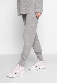 Forever Fit - SOFT TOUCH JOGGER - Tracksuit bottoms - grey - 0