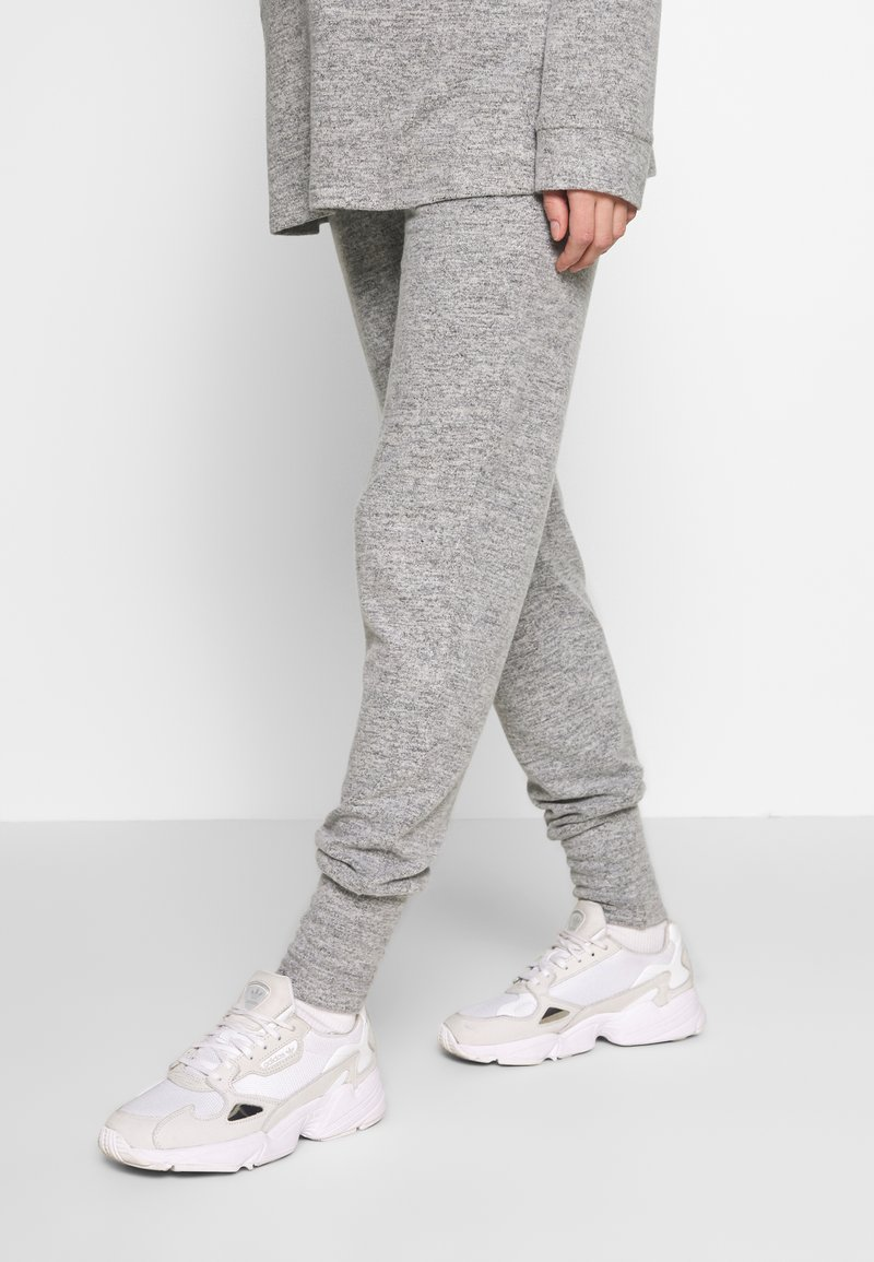 Forever Fit - SOFT TOUCH JOGGER - Tracksuit bottoms - grey