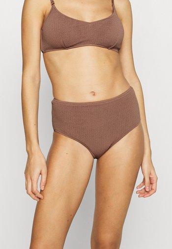 SEA DIVE WIDE SIDE RETRO - Bikini bottoms - bronze