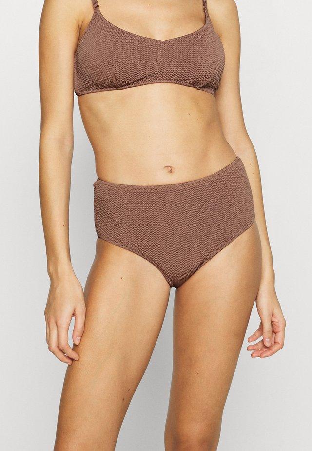 DIVE WIDE SIDE RETRO - Bikini bottoms - bronze