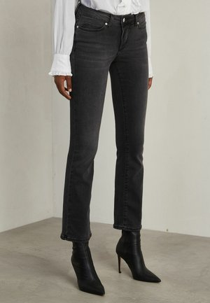 MAX - Bootcut jeans - used black