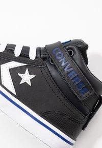 Converse - PRO BLAZE STRAP VARSITY - Baskets montantes - black/rush blue/white - 2