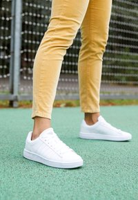 K-SWISS - COURT WINSTON - Sneakers laag - white - 4