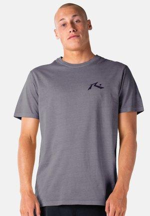 SHORT SLEEVE - Print T-shirt - coal