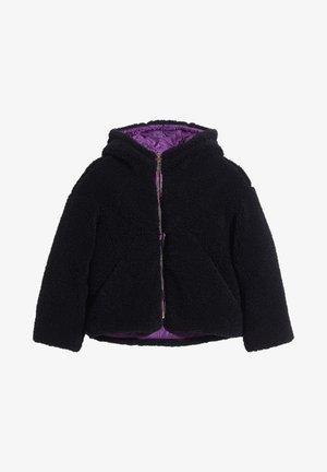 Winter jacket - black/violet