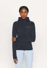 Peak Performance - CHILL ZIP HOOD - Fleece jacket - blue shadow - 3