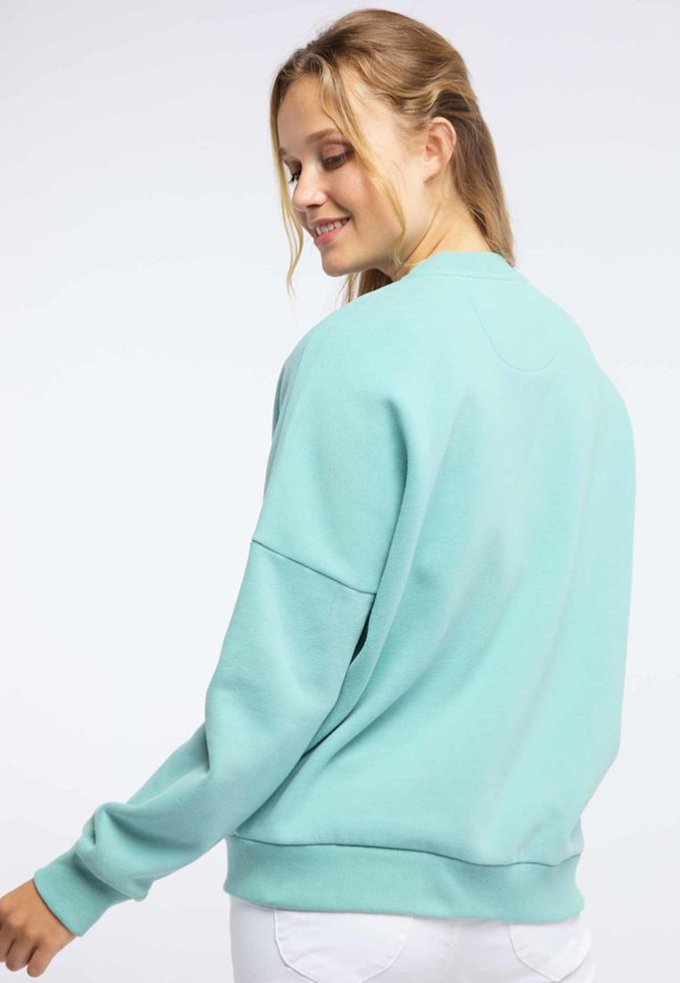 Affordable Women's Clothing myMo Zip-up hoodie mint zhHBKlxem