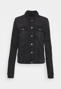 ONLTIA LIFE JACKET - Denim jacket - black denim