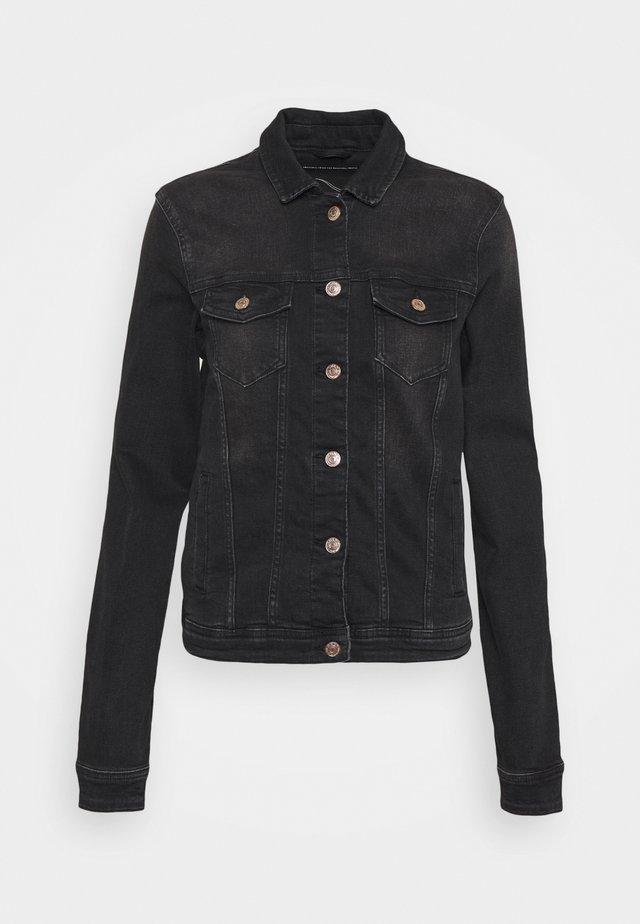 ONLTIA LIFE JACKET - Giacca di jeans - black denim