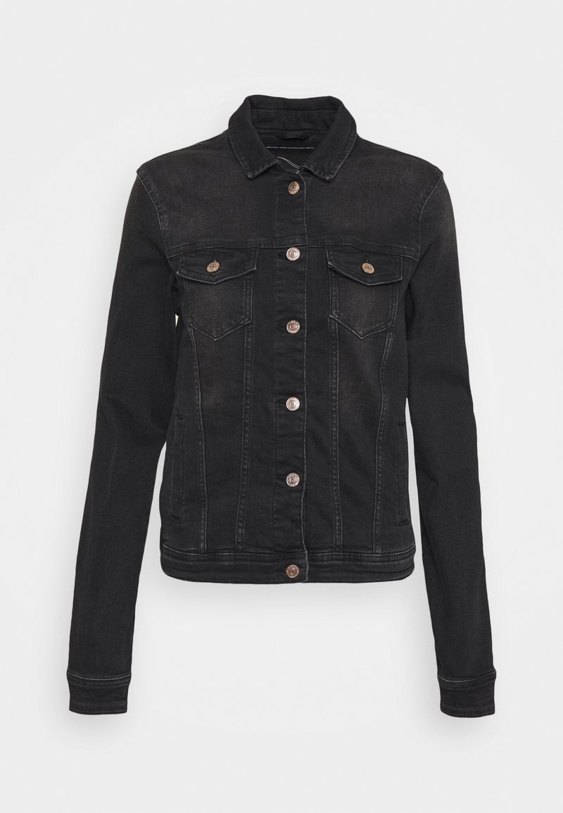 ONLY Tall - ONLTIA LIFE JACKET - Denim jacket - black denim