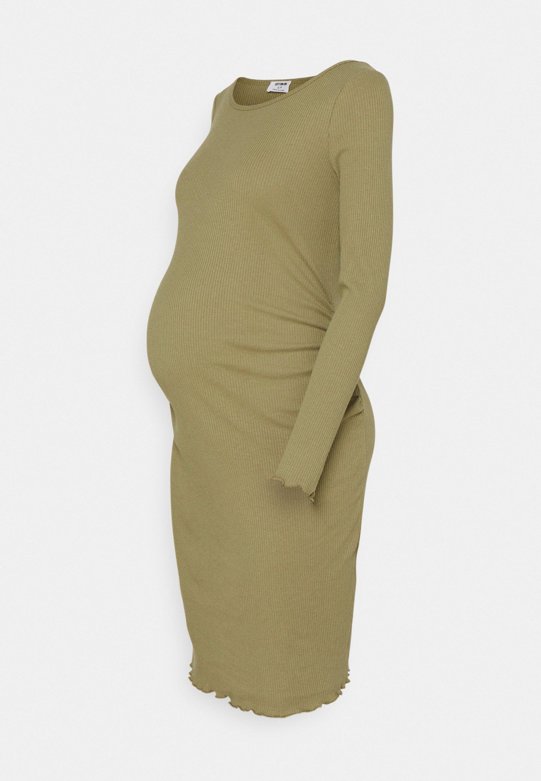 Women LETTUCE EDGE LONG SLEEVE - Shift dress