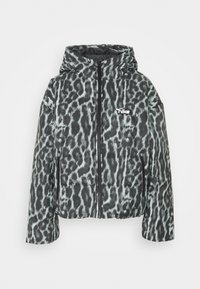 Nike Sportswear - Winter jacket - smoke grey/black/white - 6