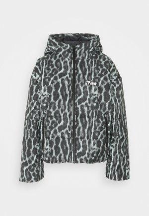Winter jacket - smoke grey/black/white