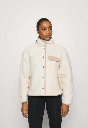 WOMENS CRAGMONT JACKET - Fleecová bunda - beige