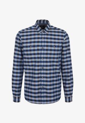 Shirt - blue check