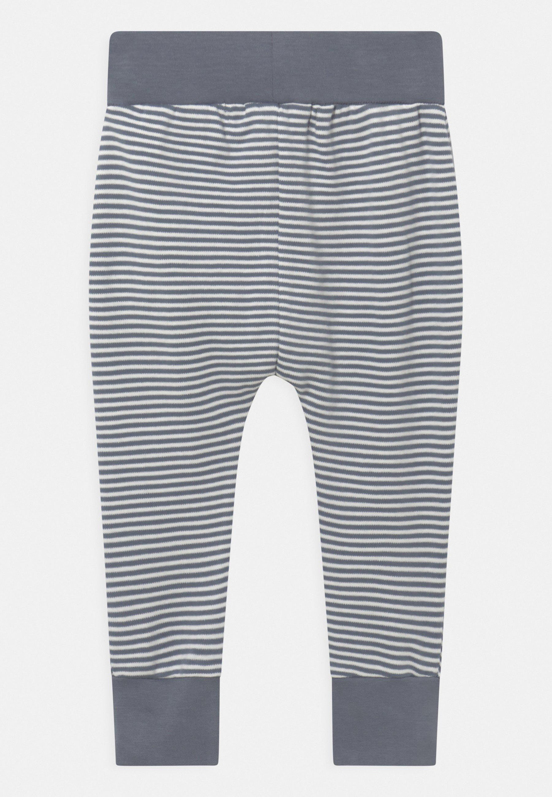 Kids YOY BABY - Trousers - stone blue