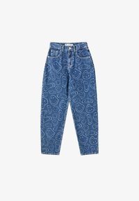 PULL&BEAR - SMILEY - Jeans Tapered Fit - blue - 6