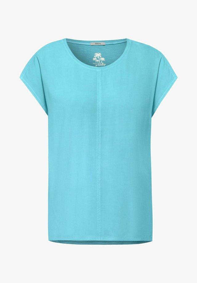 T-shirt basic - türkis