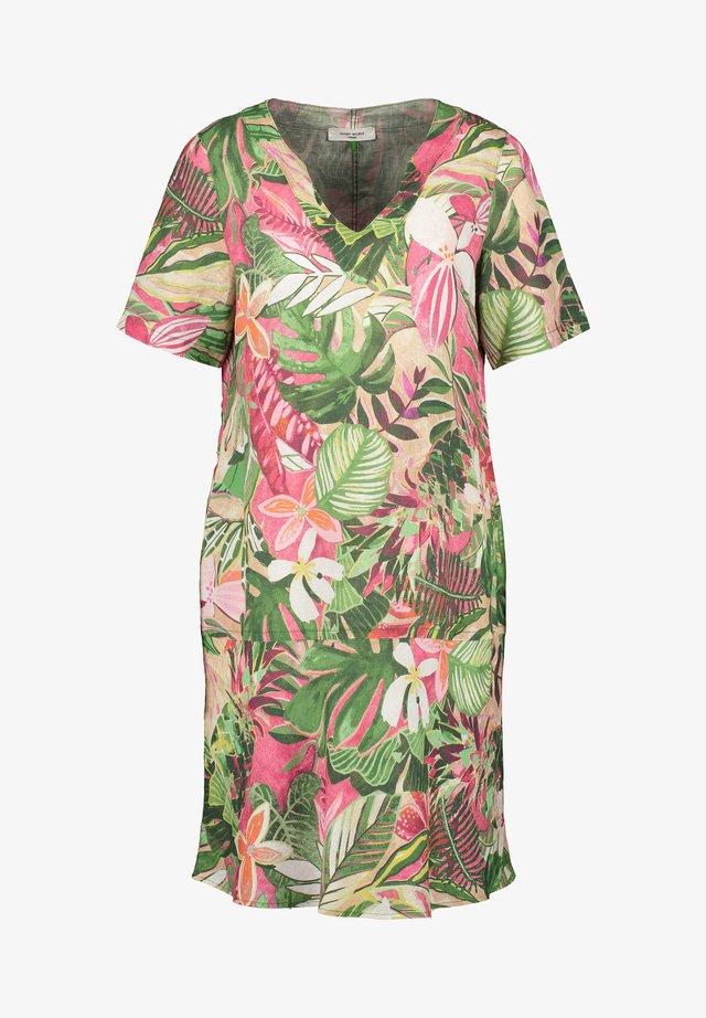 Korte jurk - violet/pink/green