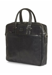 Howard London - CARTER - Taška na laptop - black - 2