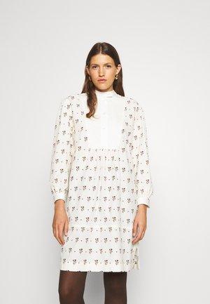 CHAUCER TUNIC DRESS - Vapaa-ajan mekko - ivory/brown