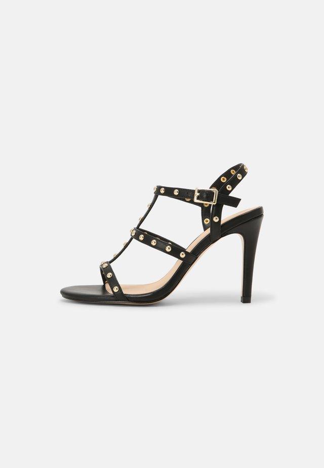 HILENIA - Sandalen met hoge hak - noir