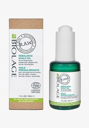 R.A.W. SCLAP REBALANCE OIL - Hair treatment - -