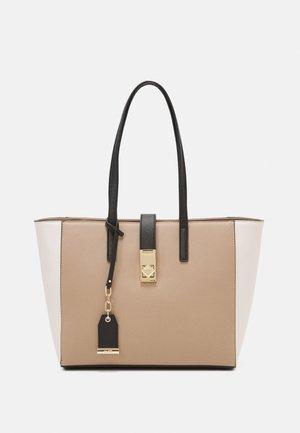 WICIEWIEL - Handbag - warm taupe/light gold-coloured