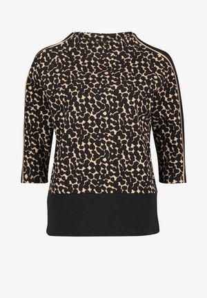 Sweatshirt - noir/beige