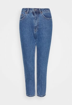 VMJOANA MOM ANKLE PETITE - Relaxed fit jeans - medium blue denim