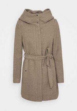 VMCLASSLIVA JACKET - Short coat - sepia tint melange