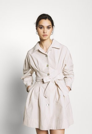 THE A LINE DRESS - Shirt dress - off-white