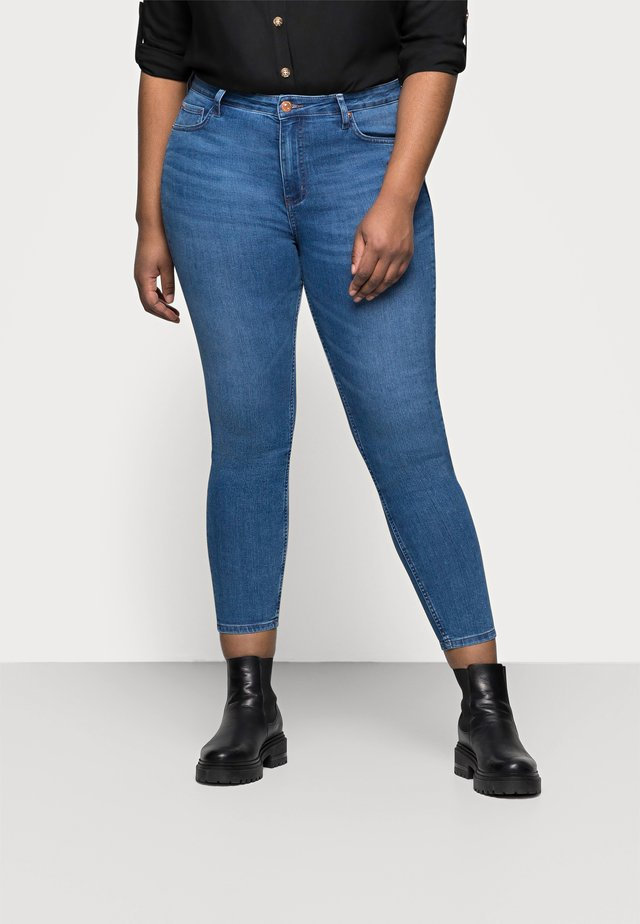 IVY SKINNY - Jeans Skinny Fit - blue denim