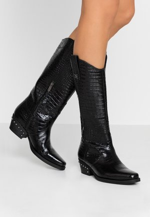 OAKLAND - Cowboy/Biker boots - black