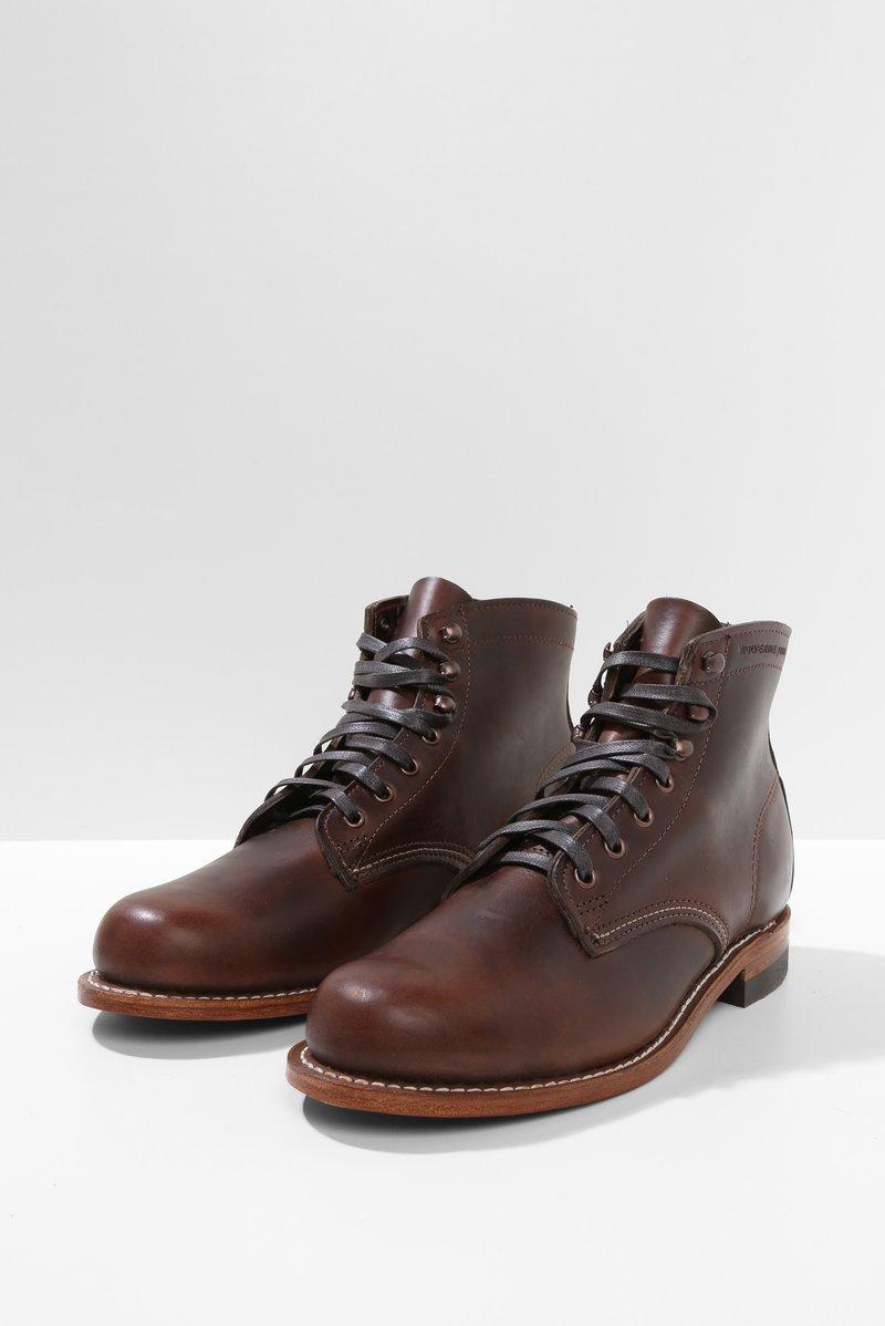 WOLVERINE 1000 MILE Damen Boots Schnürstiefeletten Schnürstiefel Stiefel Schuhe