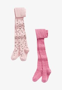 Next - 2 PACK - Collant - pink - 0