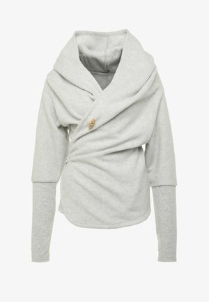 SUPTA - Kurtka z polaru - light grey