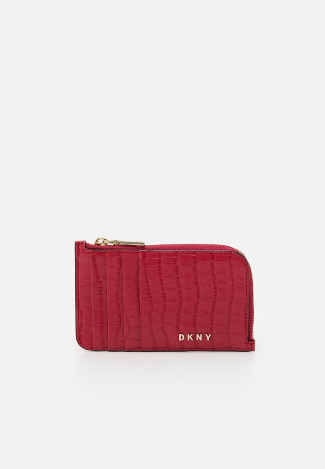 BRYANT ZIP CARD HOLDER - Wallet - bright rose