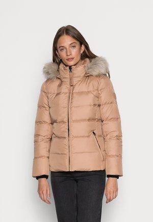 Down jacket - soft camel