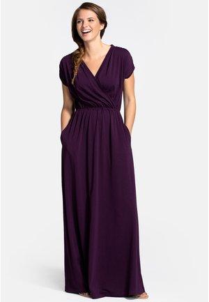Maxi dress - damson