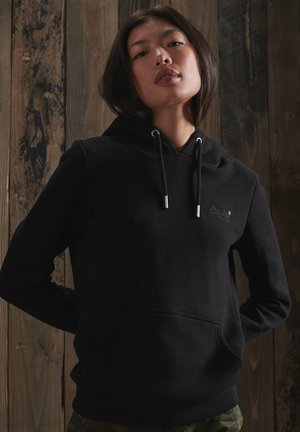 ORANGE LABEL OVERHEAD  - Hoodie - black